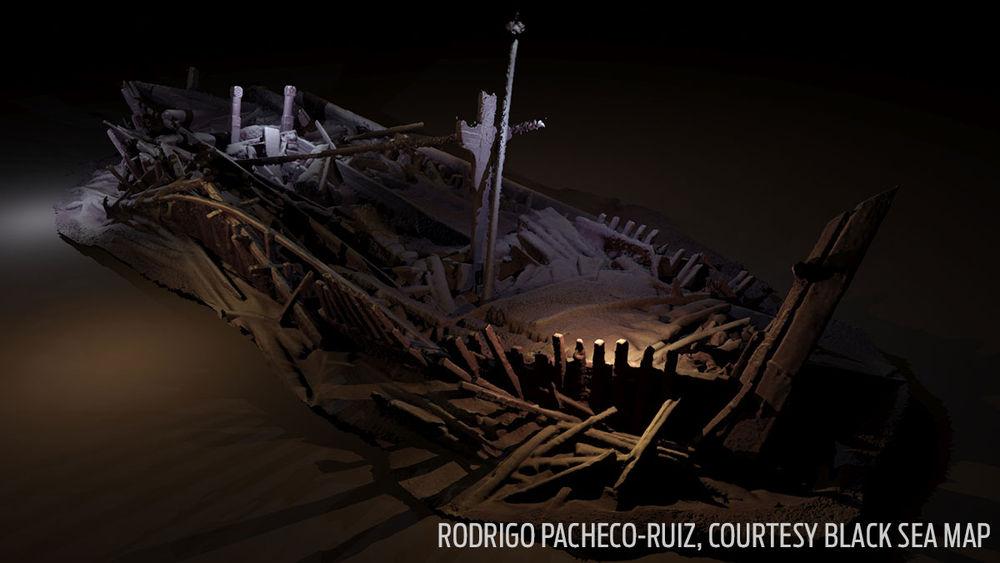 Osmanlı'ya ait gemi batıklarından