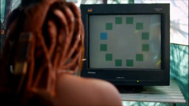 Himba deneyindeki 11 yeşil 1 mavi kutucuk