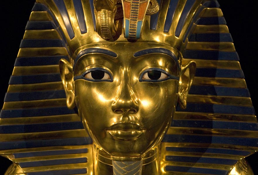 Mısırda mavinin kutsal amaçlarla kullanımı